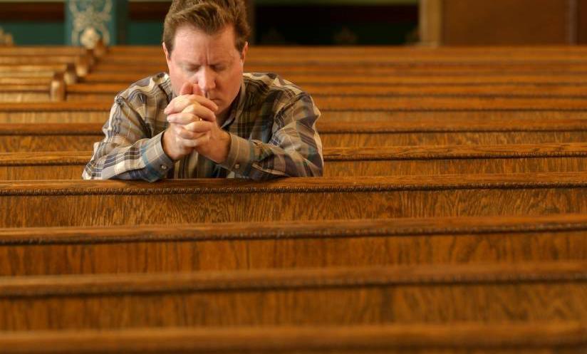 men-at-church